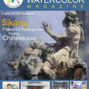 水彩専門誌に掲載されました -Published in Watercolor Magazine-