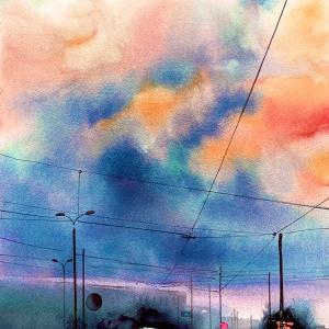 デモンストレーションデー《雲を描く》-Demonstration Day《Clouds》-