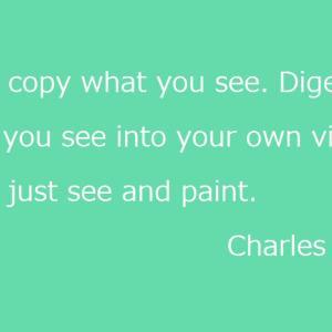 見たまま描くの?《改訂・再掲》- Don't copy what you see -