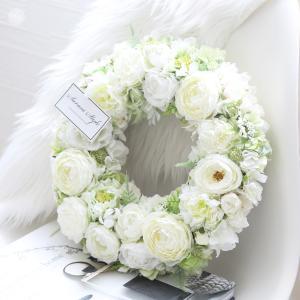 ご結婚祝いに♡純白のリーズ