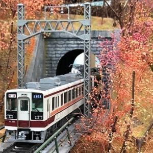 会津鉄道 6050系200番台 61201F・その3 ジオラマカフェRadenow