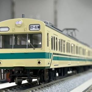 1/80 JR東日本 101系 南武支線ワンマン車・その2 試運転