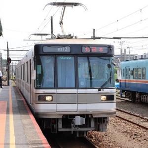 熊本電気鉄道03形 03-131+03-831