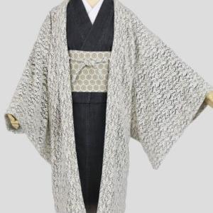 ウールの羽織コート