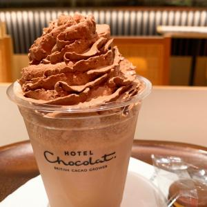 超美味♡ホテルショコラのチョコレートドリンク♡