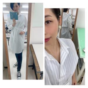 ★ 爽やかシャツワンピース