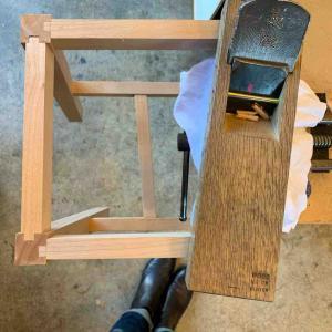 椅子作り その22 座面の仕上げ