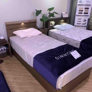ベッドのマットレス選び at Simmons