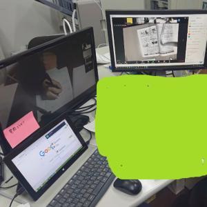 オンライン自習室の様子。