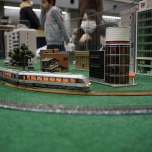 イベント出店。鉄道模型が大人気!
