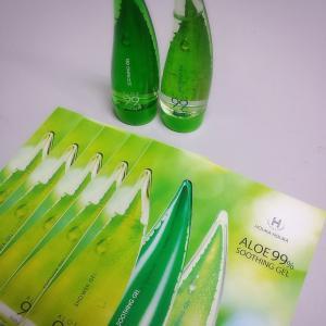 99%アロエ成分の商品『ホリカホリカアロエ99%スージングジェル』