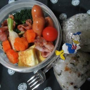 今日の先生が最初に診てくれていたら・・・・  ~おにぎり・焼き野菜弁当~