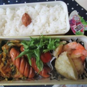 毎日 麩玉と竹輪のお吸い物だけで暮らしていた・・・   ~天ぷら弁当~