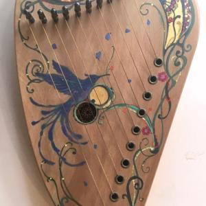 10弦琴の青い鳥