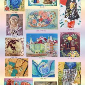 日本画・絵画教室 展覧会