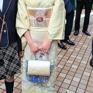 ご結婚式で帯留めです ポイント体験~布目象嵌~