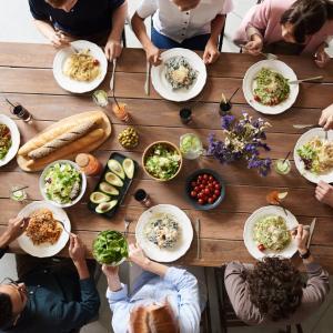 食べるものはみんな一緒で大丈夫♪