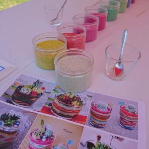 虹色サンドの材料販売開始です!