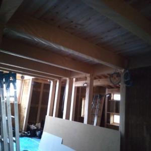 家づくり211日目 2020/3/30 ロフトの床はJパネル