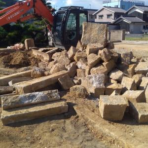 家づくり352日目 2020/8/18~ 延べ石復活!