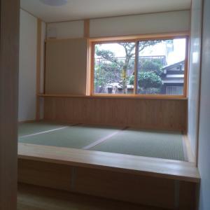 Web内覧会 3 小上がり畳の寝室は仕掛けがいっぱい