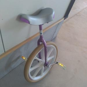 妥協案で一輪車