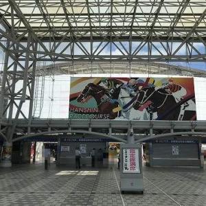 阪神競馬場観戦!