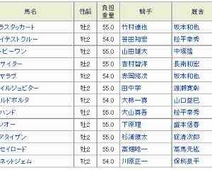 [62]園田~兵庫若駒賞予想