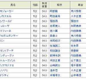 [77]川崎~ローレル賞予想