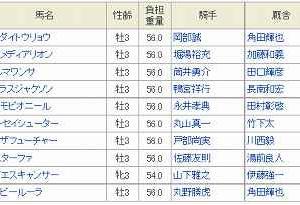[10]笠松~ゴールドジュニア予想