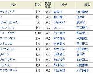 [12]川崎~川崎記念予想