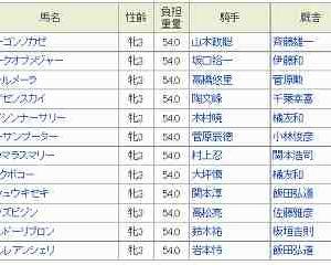 [32]水沢~あやめ賞予想