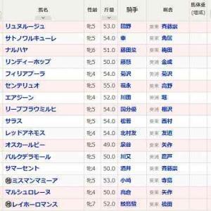 (70)阪神~マーメイドS予想