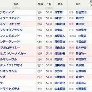 [82]盛岡~マーキュリーカップ予想