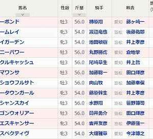 [95]笠松~岐阜金賞予想