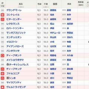 (108)中京~神戸新聞杯予想
