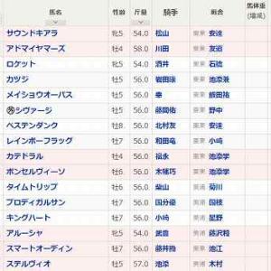 (120)京都~スワンS予想