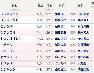 [11]川崎~川崎記念予想