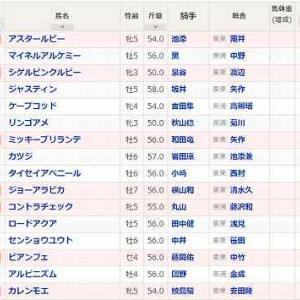 (65)札幌~函館スプリントS予想
