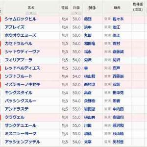 (67)阪神~マーメイドS予想