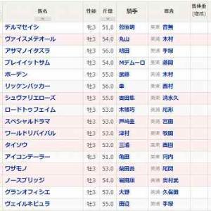 (72)福島~ラジオNIKKEI賞予想