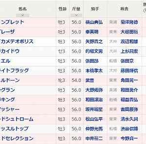 [72]大井~ジャパンダートダービー予想