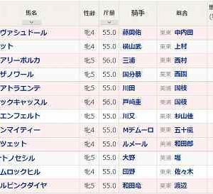 (78)函館~クイーンS予想