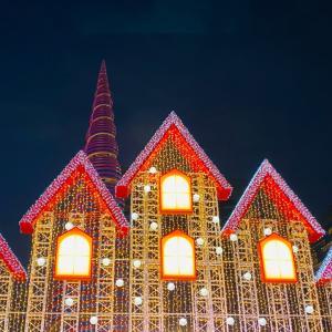 【ソウル・】夜空に輝くイルミネーション「ソウルクリスマスフェスティバル」