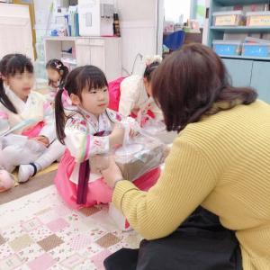 [年中]幼稚園でのセベとお土産