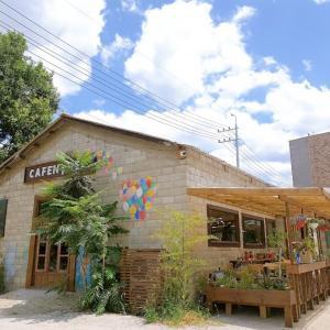 【京畿道・ナムヤンジュ】青空に映えるチェジュ島風の一軒家カフェ「CAFENTREE」
