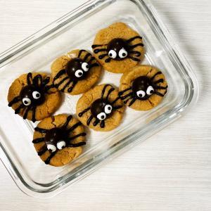 ハロウィンのスパイダークッキー!