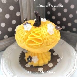 生徒さんのイエローかぼちゃ