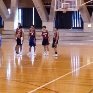 中学クラブバスケ練習試合