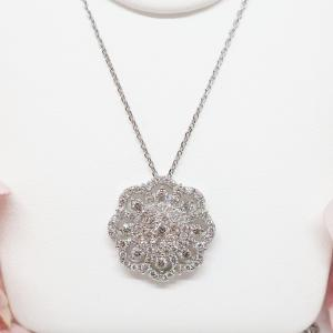 特別価格の1カラットのダイヤモンドのペンダントネックレス